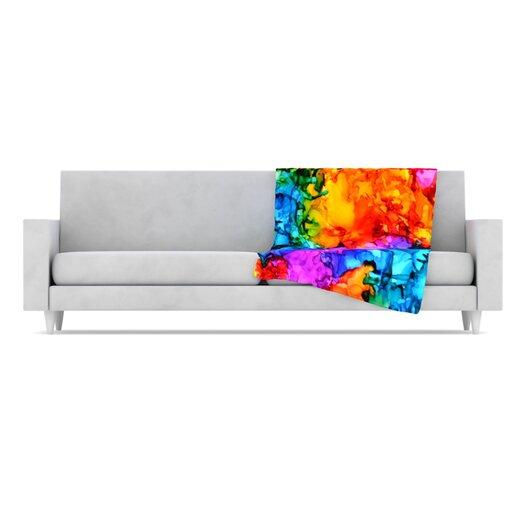 KESS InHouse Sweet Sour II Throw Blanket