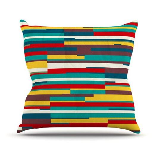 KESS InHouse Blowmind Throw Pillow