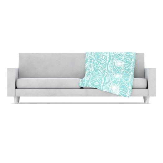 KESS InHouse Beach Blanket Bingo Throw Blanket