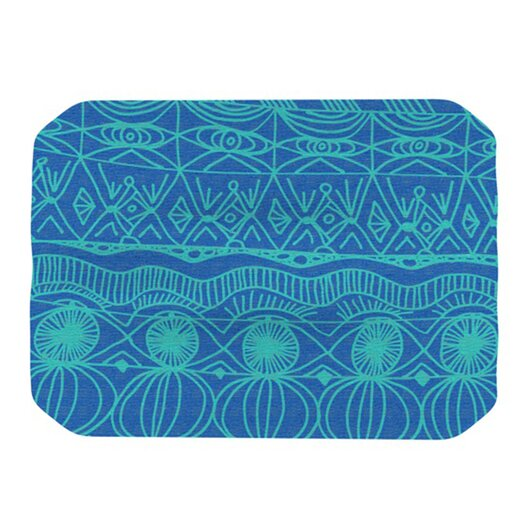 KESS InHouse Beach Blanket Confusion Placemat