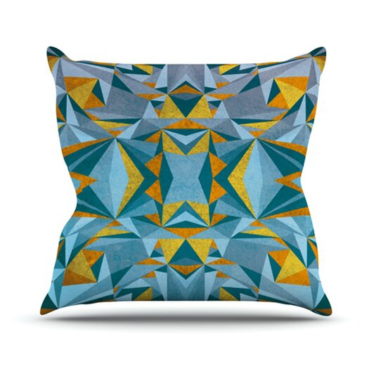 KESS InHouse Abstraction Throw Pillow
