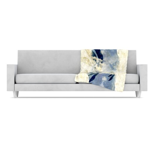 KESS InHouse Doves Cry Throw Blanket