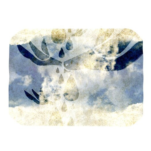 KESS InHouse Doves Cry Placemat