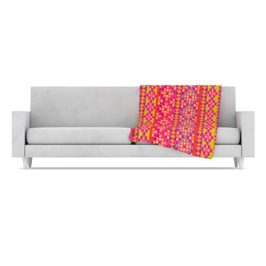 KESS InHouse Mexicalli Fleece Throw Blanket