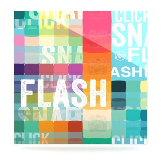 KESS InHouse Flash by Original Graphic Art Plaque