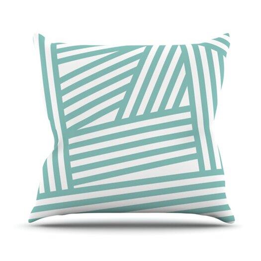 KESS InHouse Stripes Throw Pillow