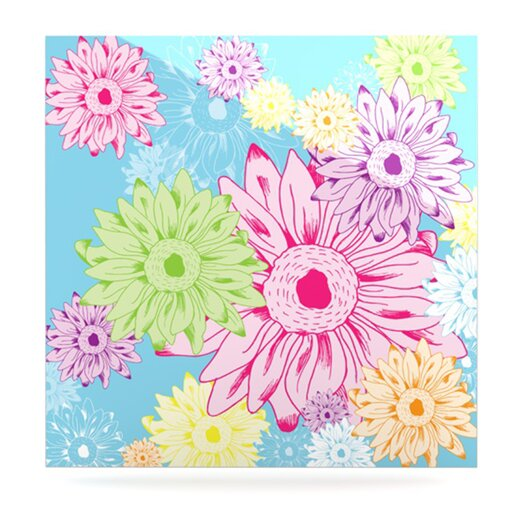 KESS InHouse Summer Time by Laura Escalante Painting Print Plaque