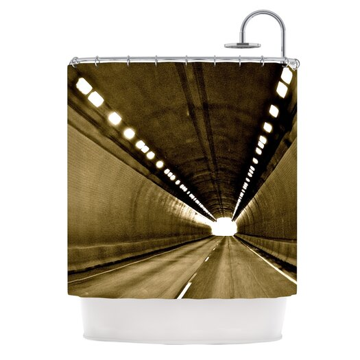 KESS InHouse Tunnel Shower Curtain