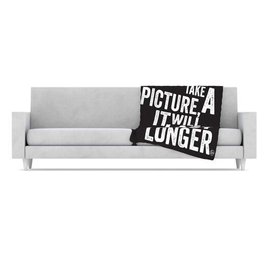 KESS InHouse Take a Picture Fleece Throw Blanket