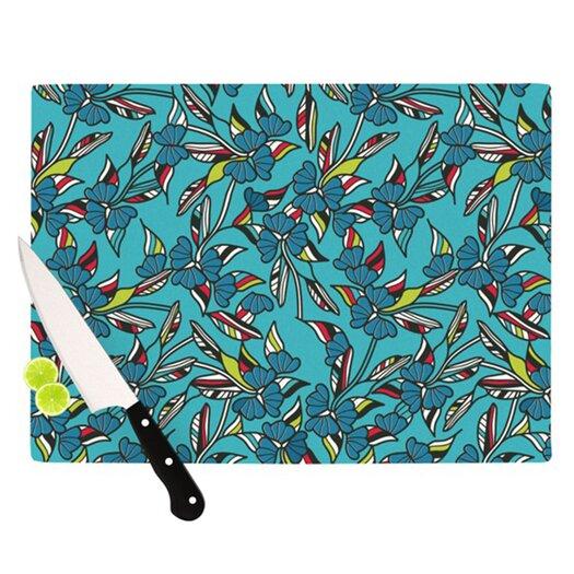 KESS InHouse Paper Leaf Cutting Board