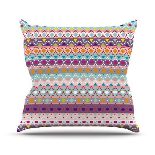 KESS InHouse Ayasha Throw Pillow