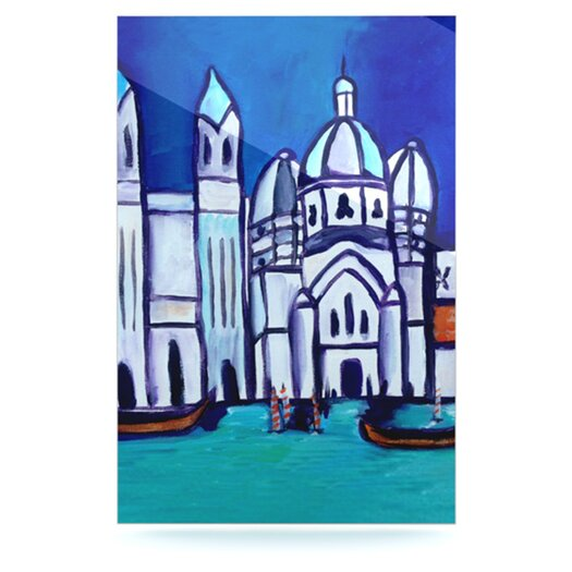 KESS InHouse Venice by Theresa Giolzetti Painting Print Plaque