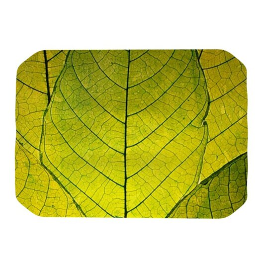 KESS InHouse Every Leaf a Flower Placemat