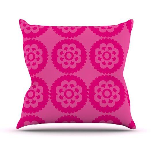 KESS InHouse Moroccan Throw Pillow