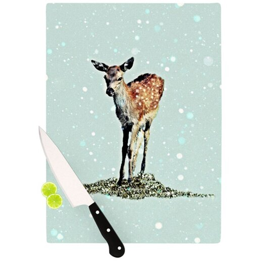 KESS InHouse Fawn Cutting Board