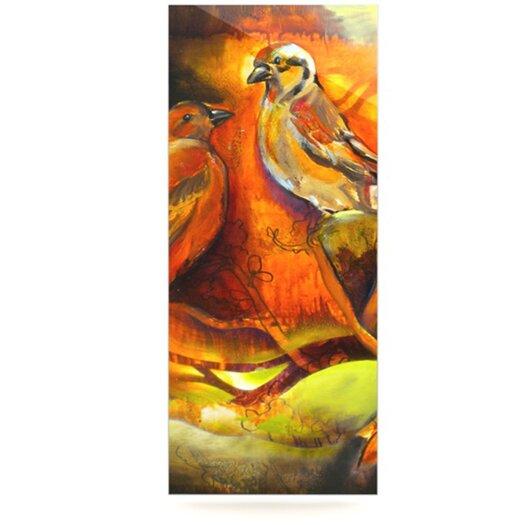 KESS InHouse Reflecting Light by Kristin Humphrey Painting Print Plaque