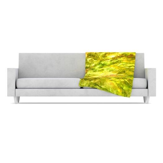 KESS InHouse Tropical Delight Fleece Throw Blanket