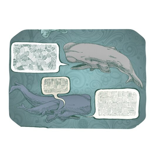KESS InHouse Whale Talk Placemat