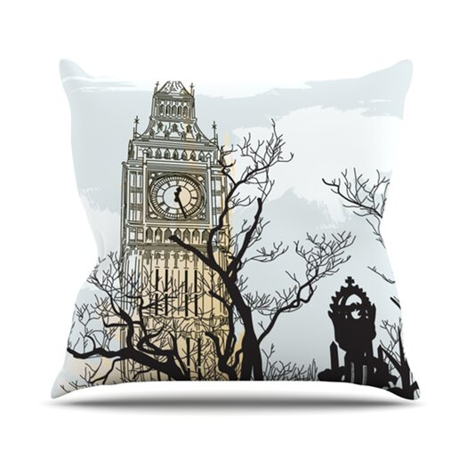 KESS InHouse Big Ten Throw Pillow