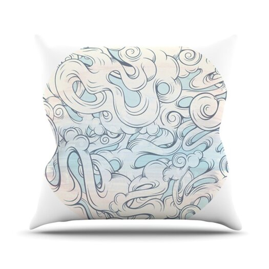 KESS InHouse Entangled Souls Throw Pillow
