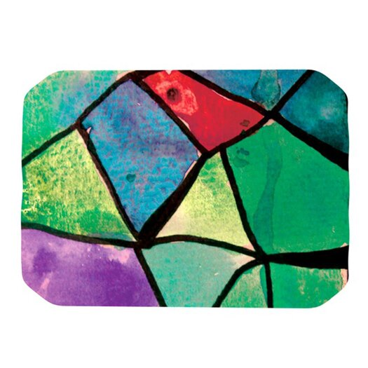 KESS InHouse Stain Glass 1 Placemat
