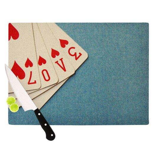 KESS InHouse Love Cutting Board