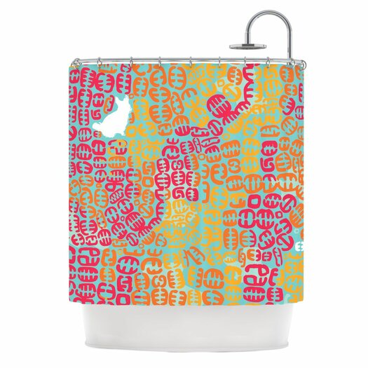KESS InHouse Oliver Shower Curtain