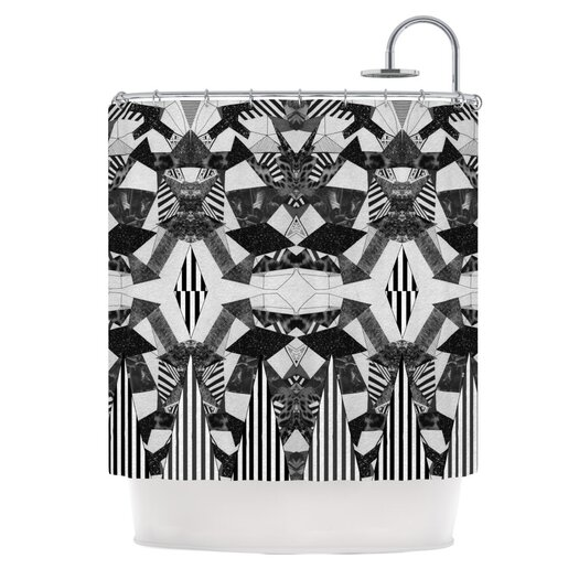 KESS InHouse Tessellation Shower Curtain