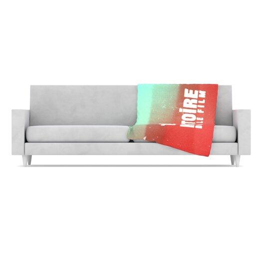 KESS InHouse Toi Histoire Throw Blanket