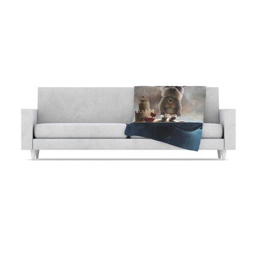 KESS InHouse Grover Throw Blanket