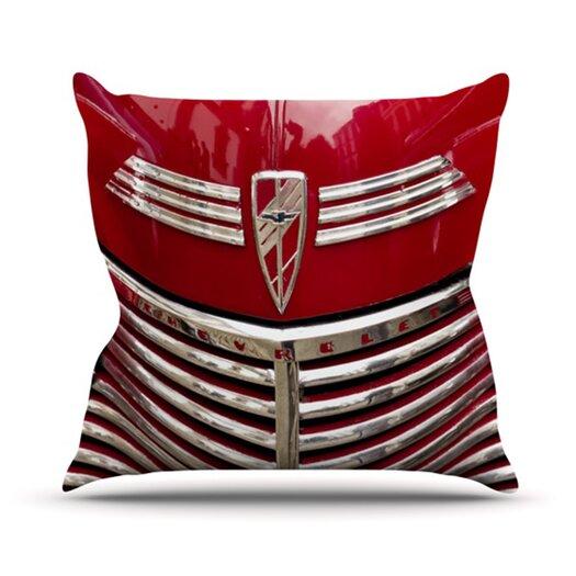 KESS InHouse Chevy Throw Pillow