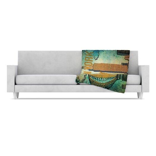 KESS InHouse New York Throw Blanket