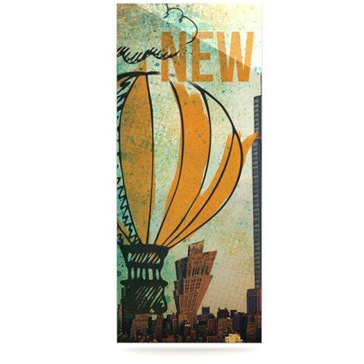 KESS InHouse New York by iRuz33 Graphic Art Plaque