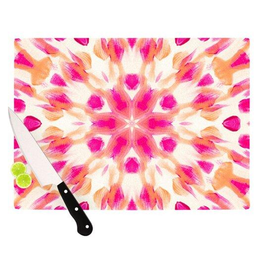 KESS InHouse Batik Mandala Cutting Board