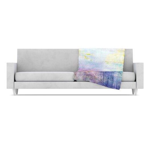 KESS InHouse Color Grunge Throw Blanket