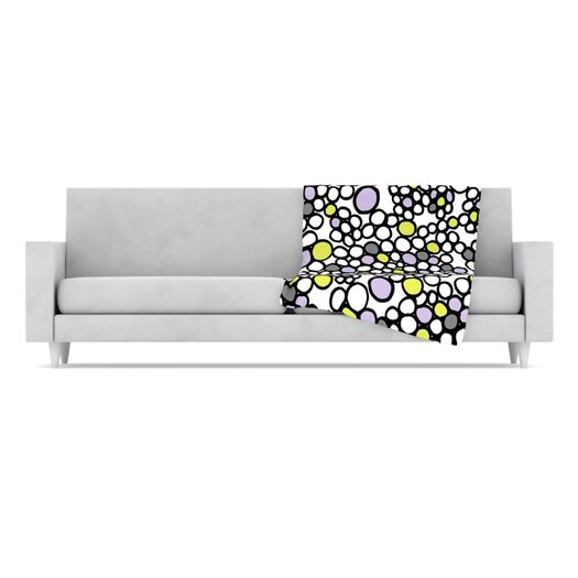 KESS InHouse Pebbles Throw Blanket