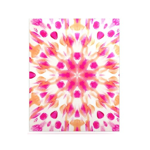 KESS InHouse Batik Mandala by Iris Lehnhardt Painting Print Plaque