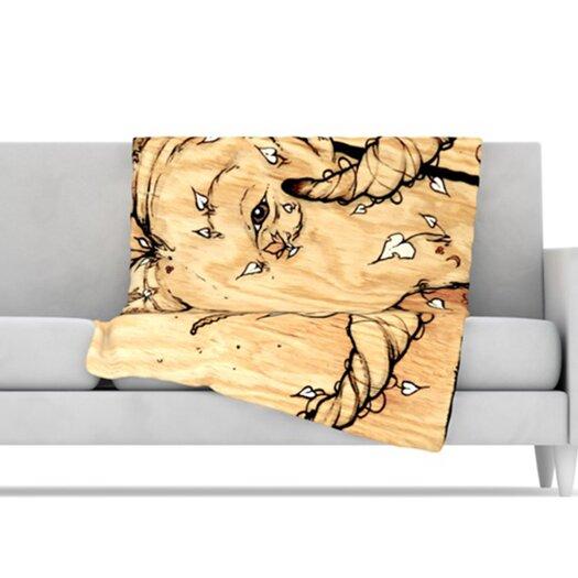 KESS InHouse Ram Throw Blanket