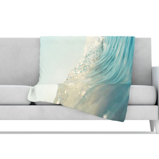 KESS InHouse The Wave Throw Blanket