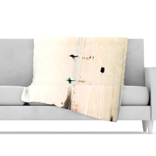 KESS InHouse Surfers Throw Blanket