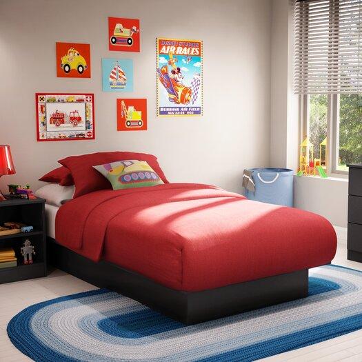 South Shore Libra Twin Platform Customizable Bedroom Set