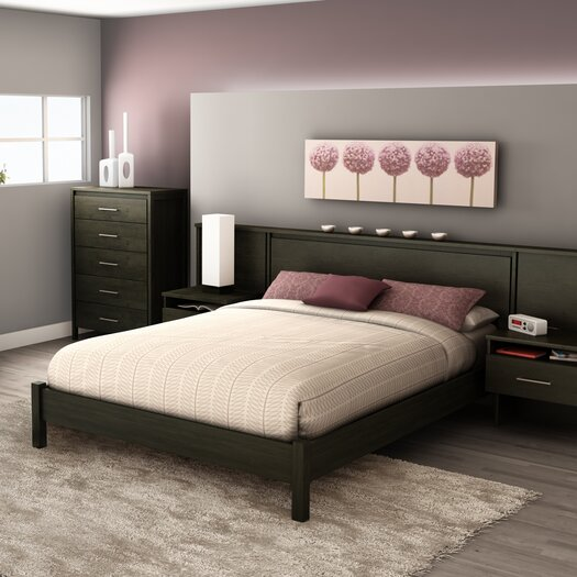 South Shore Queen Platform Bed