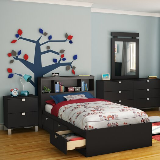 South Shore Spark Storage Mate's Customizable Bedroom Set