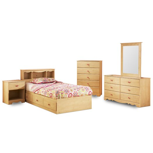 South Shore Lily Rose Twin Mates Bed Box