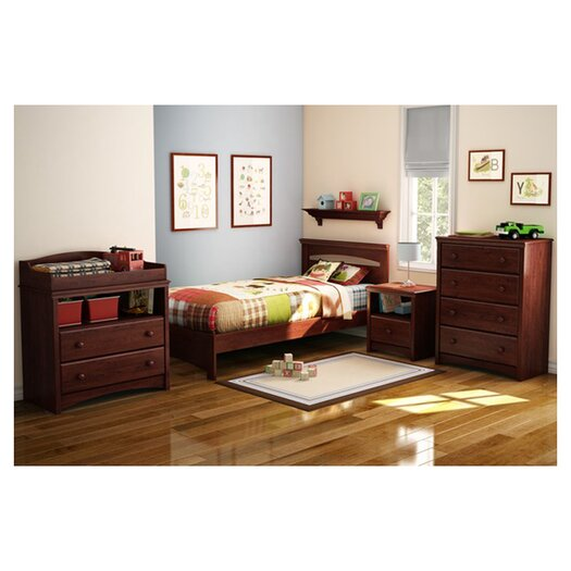 South Shore Sweet Morning Twin Panel Bed