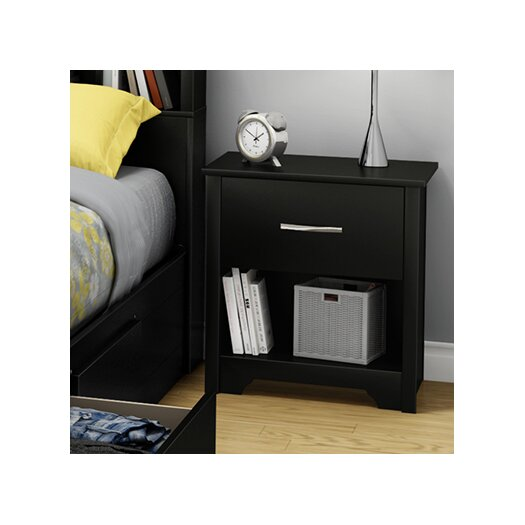 South Shore Fusion 1 Drawer Nightstand