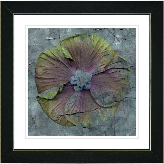 "Studio Works Modern ""Mudflower"" by Zhee Singer Framed Fine Art Giclee Painting Print"