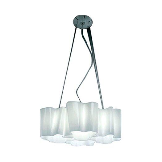 Artemide Logico 4 Light Quadruple Nested Suspension with Incandescent Bulbs