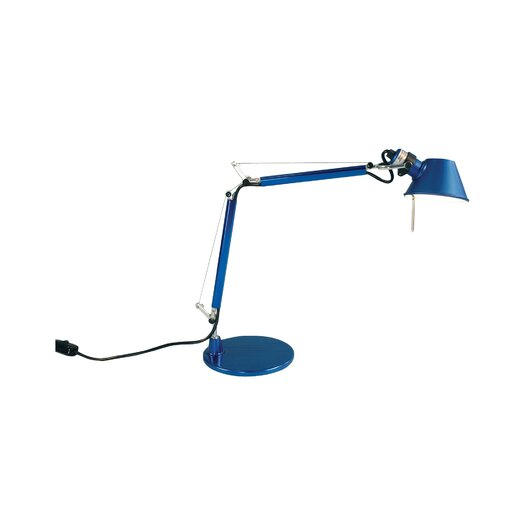 """Artemide Tolomeo Micro 14.56"""" H Table Lamp with Empire Shade"""