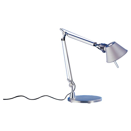 """Artemide Tolomeo Micro 7"""" Table Lamp with Empire Shade"""